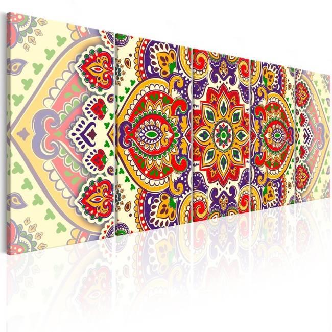 Obraz - Kolorowy ornament