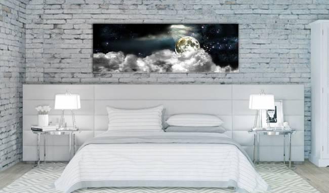 Obraz - Księżyc w chmurach
