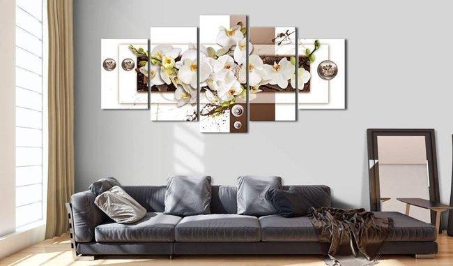 Obraz - Kwiatowa instalacja