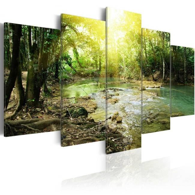 Obraz - Leśna rzeka