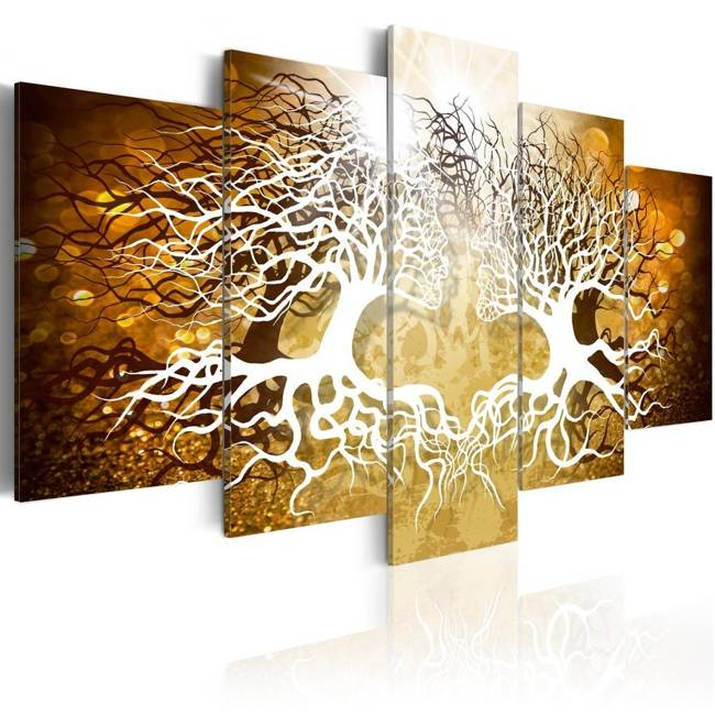 Obraz - Leśni kochankowie