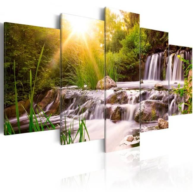 Obraz - Leśny wodospad