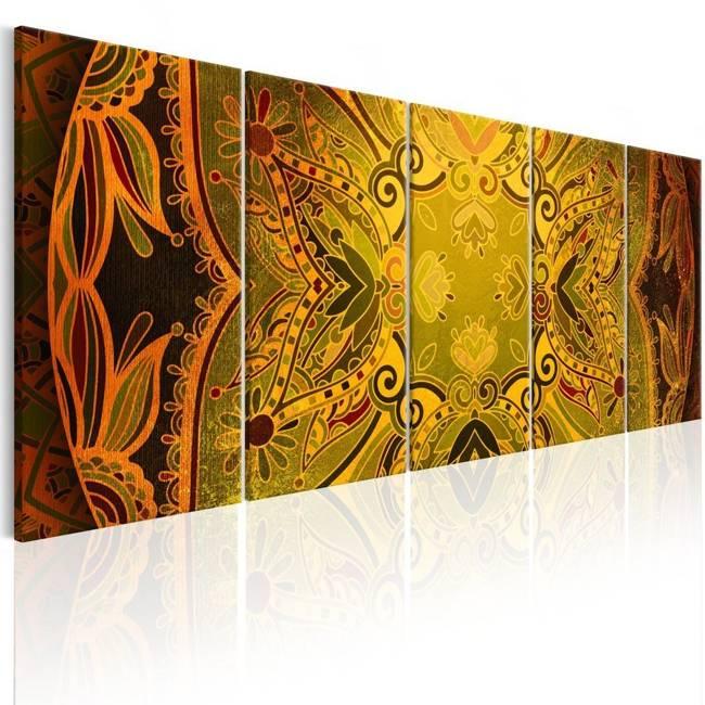 Obraz - Mandala: Kwieciste skrzydła