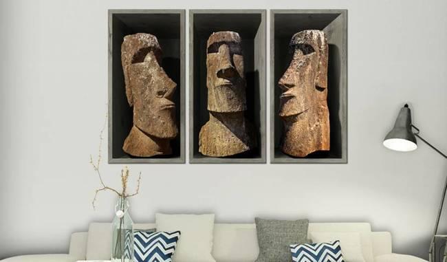 Obraz - Moai (Wyspa Wielkanocna)