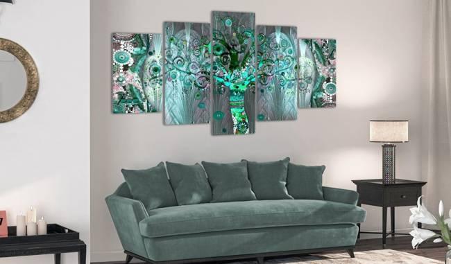 Obraz - Mozaikowe drzewo