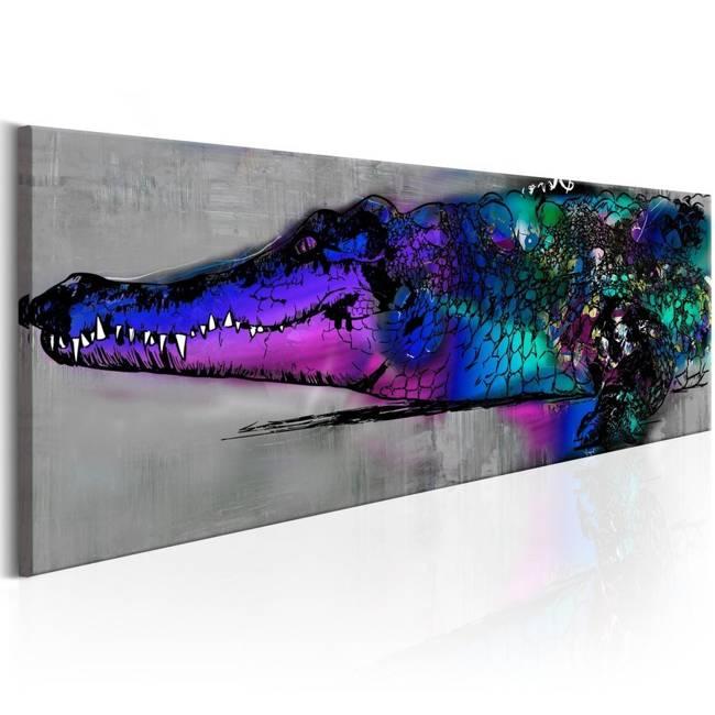 Obraz - Niebieski aligator