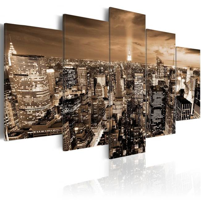 Obraz - Nowy Jork: nocne światła