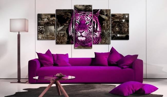 Obraz - Purpurowy król