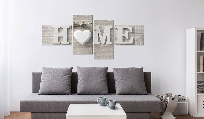 Obraz - Retro styl: HOME