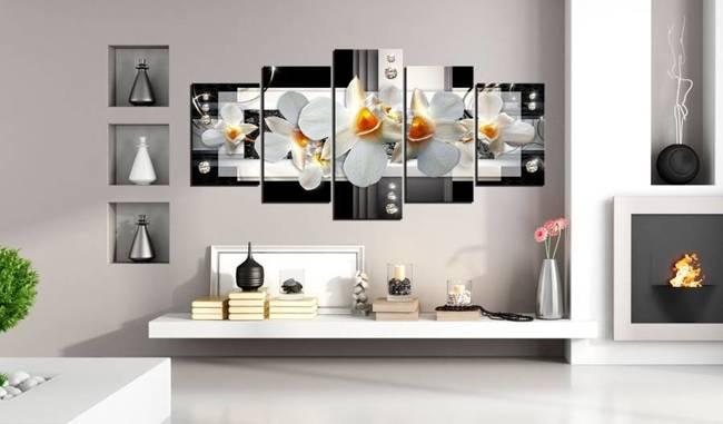 Obraz - Słoneczne orchidee