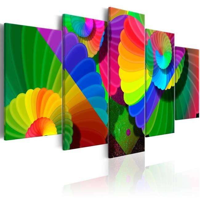 Obraz - Zakręcone kolory