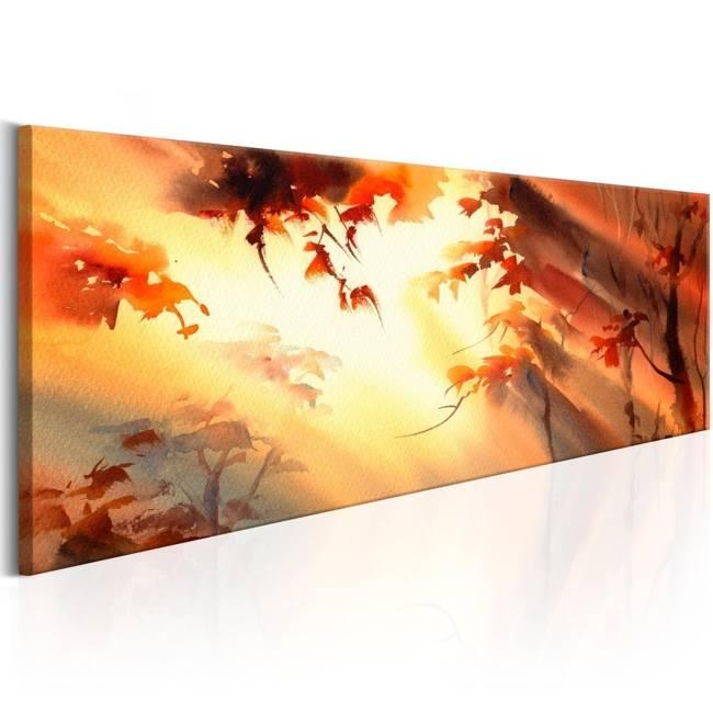 Obraz - Złoty las