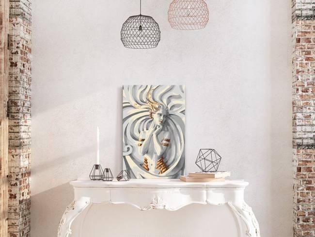 Obraz do samodzielnego malowania - Meduza