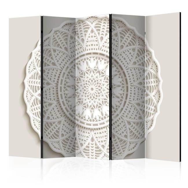 Parawan 5-częściowy - Mandala 3D II [Room Dividers]