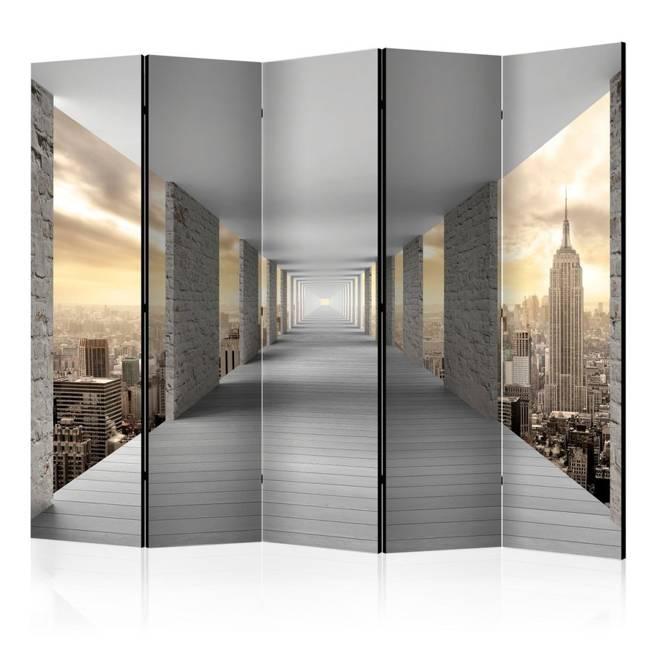 Parawan 5-częściowy - Podniebny korytarz II [Room Dividers]