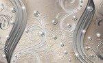 Fototapeta Diamenty kremowy wzór 2046