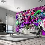 Fototapeta - Foletowe graffiti
