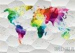 Fototapeta Kolorowa mapa 11190