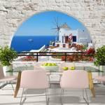 Fototapeta - Lato na Santorini
