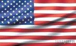 Fototapeta Powiewająca flaga USA 485