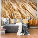 Fototapeta - Wavy sandstone forms