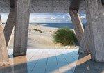 Fototapeta Widok na plażę 3653