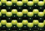 Fototapeta Zielona mozaika z kul 503