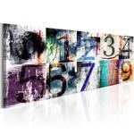 Obraz - Kolorowe numery