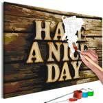 Obraz do samodzielnego malowania - Miłego dnia
