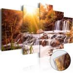 Obraz na szkle akrylowym - Dolina jesieni [Glass]