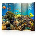 Parawan 5-częściowy - Podwodny świat II [Room Dividers]